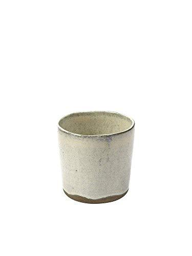 MERCI N°9 Tasse Blanc cassé - H 7.3 cm