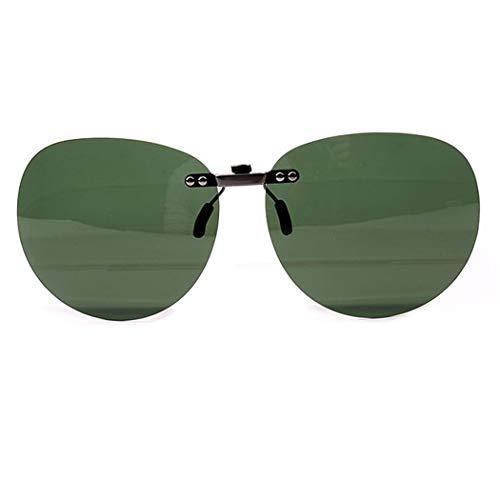 LOHO Polarizado Clip Unisex en Gafas de Sol para Anteojos Recetados-UV400 para Carreras, Conducción, Golf, y Mucho Más Deportes Exteriores