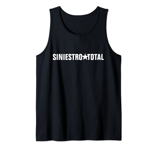 Siniestro_Total Band Rock España Camiseta sin Mangas