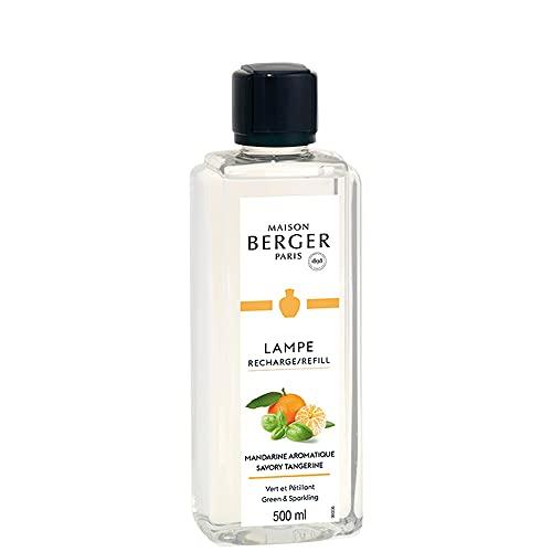 Maison Berger Paris – Recarga lámpara Berger 500 ml – Perfume de mandarina aromática