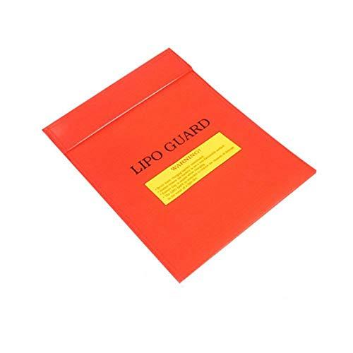 Ranana Feuerfeste Dokumententasche Wasserresistente Tasche Schutztasche Schutztasche Fireproof Case Sicherheitstasche Für Bargeld, Pässe, Karten, Schmuck Und Batterien Schutz (18 23cm) Grand