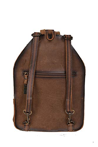 STS Ranchwear Cowhide Baroness Backpack Cowhide/Tornado Brown One Size