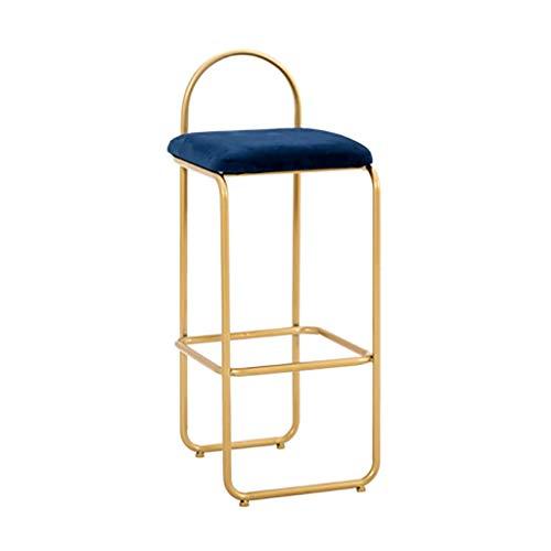 TYZ klapstoel, Scandinavische stijl, bar, frame, goudkleurig, stoel, voor, kruk, restaurant, café, stoel