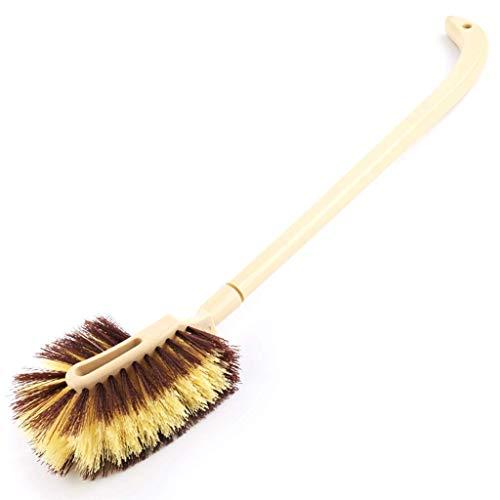 AA + mango largo Aseo pelo cepillo suave, de doble cara de mango largo Descontaminación Escobilla de baño for Muerto esquina cepillo de limpieza, Aseo Aseo de lavado higiénico suave cepillo de pelo ny