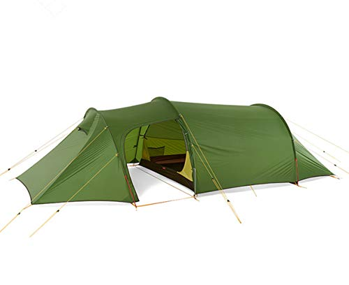 HWLY Opalus Backpacking Tent Waterproof Lightweight Camping Tent for 3 People with Footprint, green