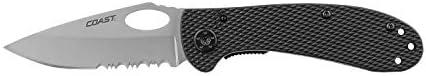 Coast CG004PL Knife Lockback Black Handle product image