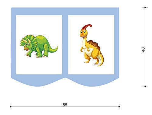 XXL Discount Sac de rangement pour lit d'enfant - 55 x 40 cm - 100 % coton - Accessoires de lit (bleu clair/bleu foncé)