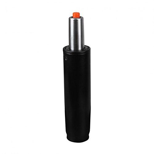 AMSTYLE® Gasdruckfeder schwarz Metall bis 180 kg 245-345 mm | Gasfeder Höhenverstellung 10 cm | Gas-Lift Gasdruckdämpfer für Stühle