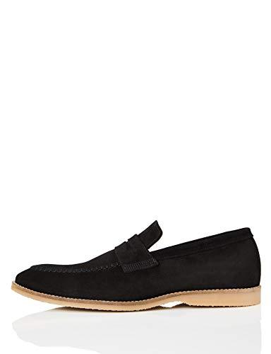 find. Men's Loafer Slippers Black Size: 8 UK