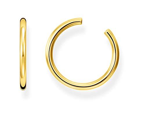 Thomas Sabo Abrazadera de oreja Señoras 18 quilates (750) bicolor No aplica Irregular - EC0027-413-39