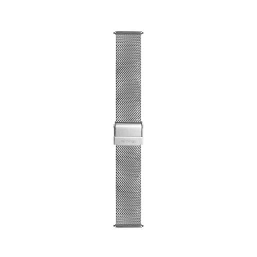 Withings Metallarmband für ScanWatch, Steel HR, Steel HR Sport und Move