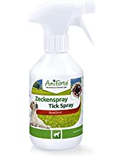 AniForte Spray contra garrapatas para perros 250ml - Protección contra garrapatas, pulgas, ácaros y parásitos, spray anti garrapatas, repelente de garrapatas, spray para insectos