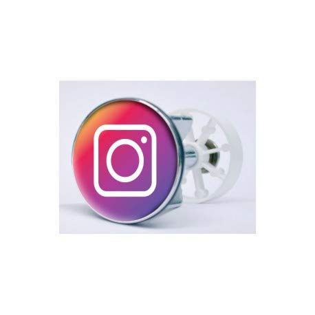 Bearn Sticker Instagram wastafel stopper XXX-Small