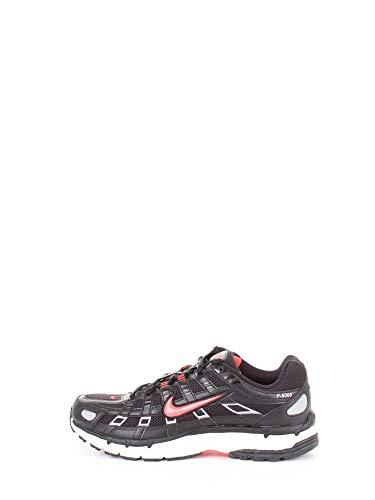 Nike P-6000 Hombre Running Trainers CN0150 Sneakers Zapatos (UK 11 US 12 EU 46, Black Bright Crimson White 001)