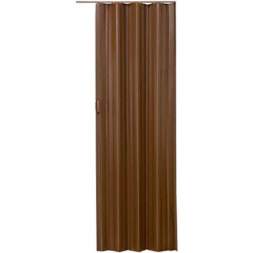 LD Puerta plegable de plástico PVC, 80 x 203 cm
