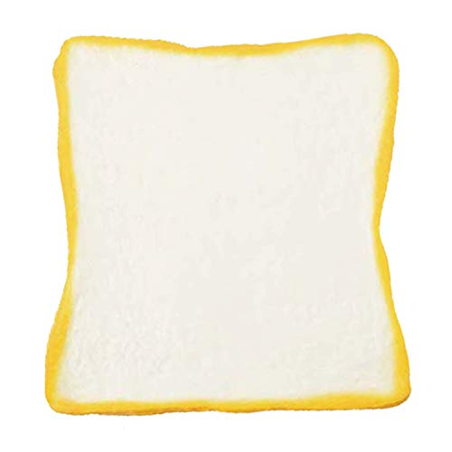 ibloom Aoyama Tokyo Milk Toast Reborn Realistic Bread Slow Rising Squishy Toy (Milk, White, 4.7 Inch) [Kawaii Squishies for Party Favors, Stress Balls, Birthday Gifts for Kids, Girls, Boys, Adults]
