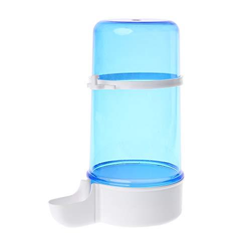 luosh Pájaros Botella de Agua Alimentador automático de Agua para Alimentos Dispensador de Loros para hámster Alimentación de Agua Bebedero para Comida