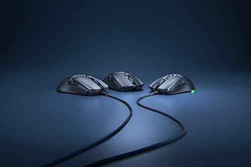 Razer Viper Mini – Ultra light Gaming Mouse (Ultraleichte beidhändige Gamer Maus mit 61g Gewicht, Speedflex-Kabel, optischer 8.500 DPI Sensor und RGB Chroma Beleuchtung) Schwarz - 8