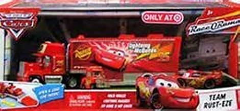 Disney Pixar World of Cars Race O Rama Edition 3 Piece Set 1:55 Scale includes Mack Hauler, Lightning McQueen and My Name is Not Chuck