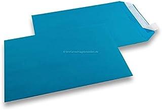 Sobres de papel (tamaño A4, 229 x 324 mm, 50 unidades, 120 g), color azul marino