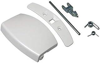 Juego completo de manillas de puerta para lavadora Electrolux AEG 405508700, ojo de buey