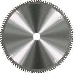 1 HM Kreissägeblatt für Alu Ø 190 x 30 mm 60 HM-Zähne, für Aluminium-Legierung und Kunststoffprofile Sägeblatt Kreissägeblätter 73719
