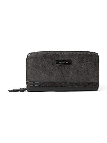 TOM TAILOR Damen Taschen & Geldbörsen Damenbörse Elin schwarz/black,OneSize