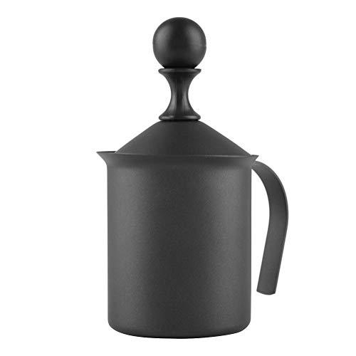 Manueller Milchaufschäumer, Doppelmaschig, Milchaufschäumer für Kaffee, Cappuccino (400 ml)