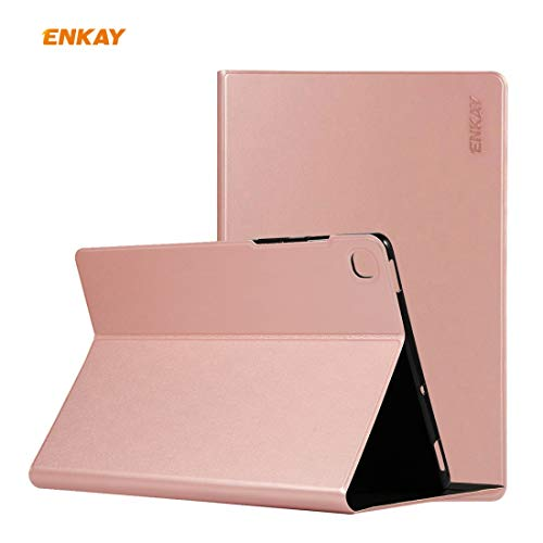 youanshanghang Protective case for Samsung Galaxy Tab S6 Lite P610 / P615 ENK-8005 Horizontal Flip PU Leather + TPU Smart Case with Holder, All Buttons Match(Black) (Color : Pink)