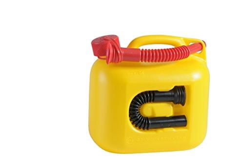 ヒューナースドルフ Hunersdorff 燃料タンク [ 安心の正規品 保証付 ]ポリタンク フューエルカンプレミアム 5L ウォータータンク 燃料 ホワイトガソリン 灯油 タンク キャニスター キャンプ (イエロー)