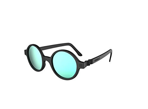 Preisvergleich Produktbild Ki ET LA Unisex Baby Redondo T6 Sonnenbrille,  Schwarz (Negro),  4