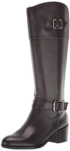 Bandolino Footwear Women's PRIES Knee High Boot, Tartufo, 8.5