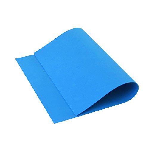 Cisne 2013, S.L. 10 láminas de Goma Eva 40x60 cm, 2mm Grosor Azul