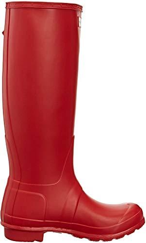Hunter Original Tall classic, Unisex - Erwachsene Gummistiefel mit hohem Schaft, Rot (Hunter Red), 37 EU