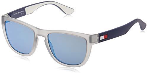 Tommy Hilfiger TH 1557/S Gafas de sol, Gris (MATT GREY), 54 para Hombre