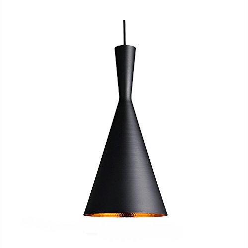 ZEKOO ペンダントライト 天井照明 キッチン カウンター 照明器具 LED 玄関 ダイニング 北欧 インテリア E26 可愛い 室内照明 吊り下げ灯 ブラックの写真