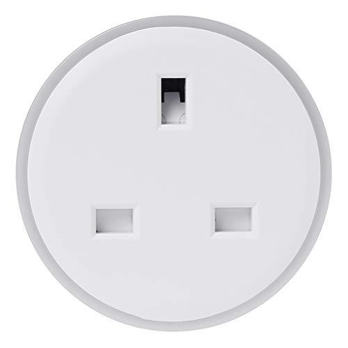 kdjsic Smart Plug WiFi Remote Control UK Socket Timer LED No Hub Energy Saving Supplies