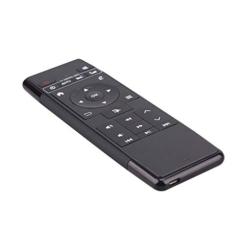 Fesjoy Remote Control, HCY-63A 2-in-1 Remote Control 2.4 G Wireless Air Mouse 6-Axis IR Learning Keyboard Rechargable Compatible with Android PC