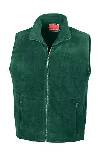Result gilet veste sans manches en polaire polaire veste xS s m l xL xXL FR:54/56 Vert - Kaki