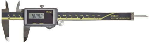 Mitutoyo 500-474 Digital Calipers, Solar Powered,...