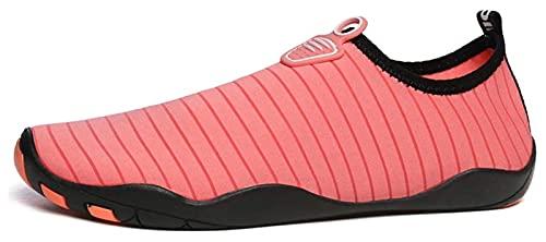 HAOKTSB Zapatos de Agua para Hombres y Mujeres Descalzos de Secado rápido de Calcetines de Agua Deportivos al Aire Libre Zapatos de natación Calcetines Antideslizantes de Agua Zapatos de Playa