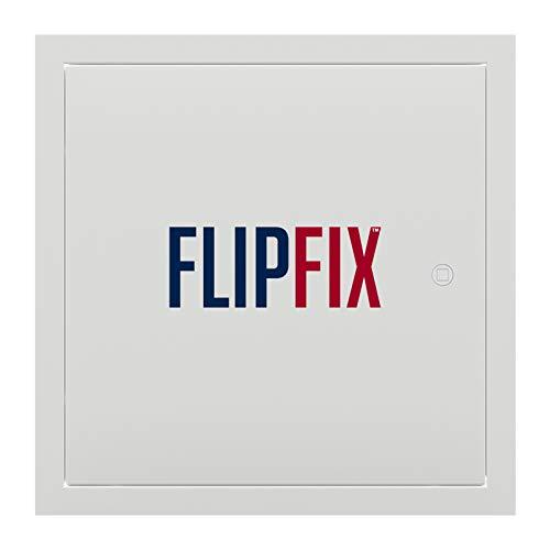 FlipFix Premium Metal Access Panel / Access Door for Drywall / Easy to Fit (12' x 12')