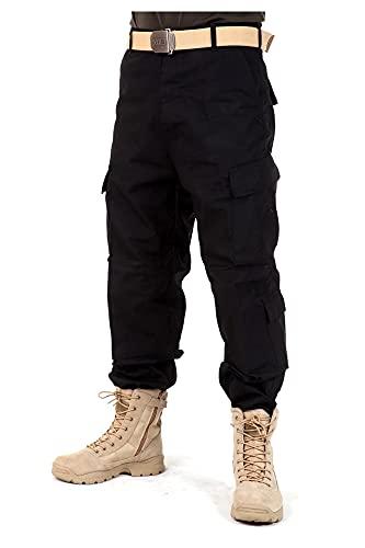 QNONAQ Pantalones Overoles Pantalones De Camuflaje De Los Hombres Pantalones De Carga Sueltos Al Aire Libre Pantalones Tácticos Masculinos Camo Escalada Camping Pantalones Juggers Pantalones