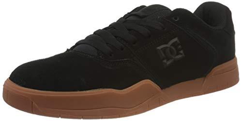DC Shoes Central, Zapato de Skate para Hombre, Black/Gum, 43 EU