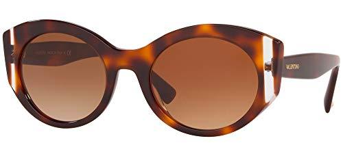 Valentino Gafas de sol VA4039 501113 Gafas de sol Mujer color Marrón Habana tamaño de lente 53 mm