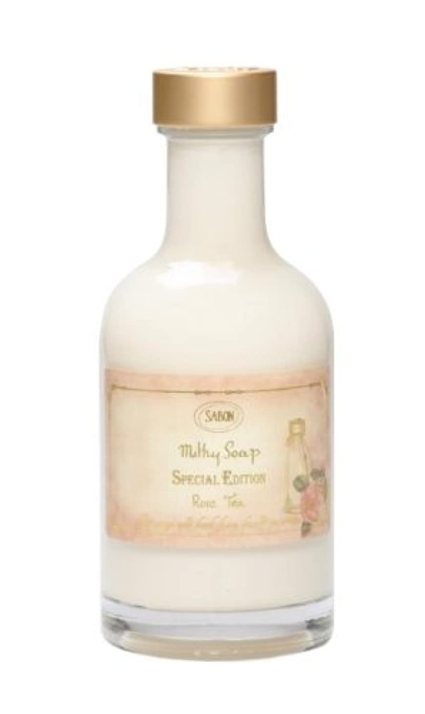隠す圧力叱る【SABON(サボン)】Milky Soap Rose Tea ミルキー ソープ ローズ ティー