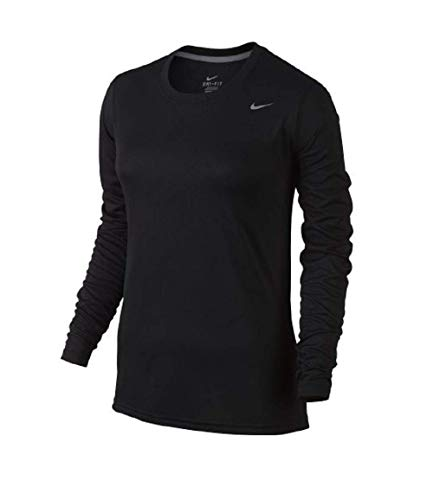 Nike women's long sleeve legend shirt Large Black