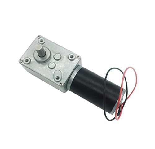 Micromotor 24v Potente Gusano de alto par motor de 12 voltios eléctrico inverso de caja de cambios 12V DC Reductor Los motores de bricolaje se utilizan ampliamente e