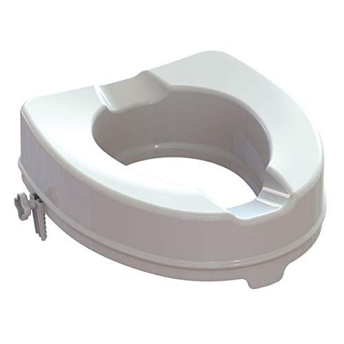 GIMA - RIALZO WC - con sistema di fissaggio - 14 cm