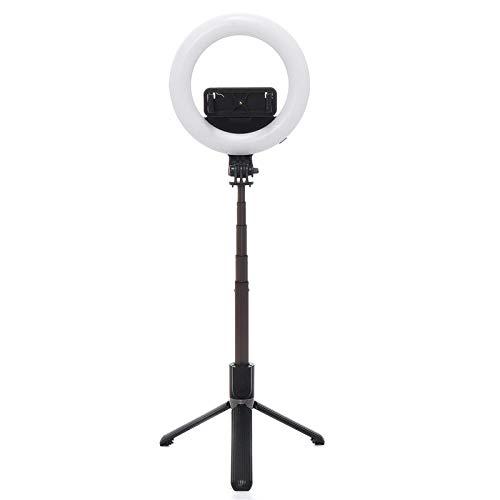 Heqianqian Selfie Anillo de Luz LED Selfie Anillo de Luz Regulable Lámpara Para Cámara Teléfono Vídeo Foto LED Rellenar Belleza Luz Para Mackup Broadcast LED Anillo de Luz